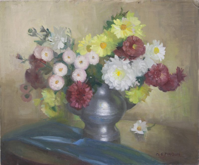 "Marguerite S. Pearson, ""Floral Still Life"""