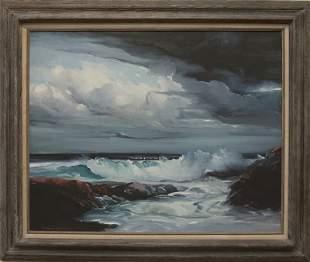 "Roger Curtis, ""Seascape"""