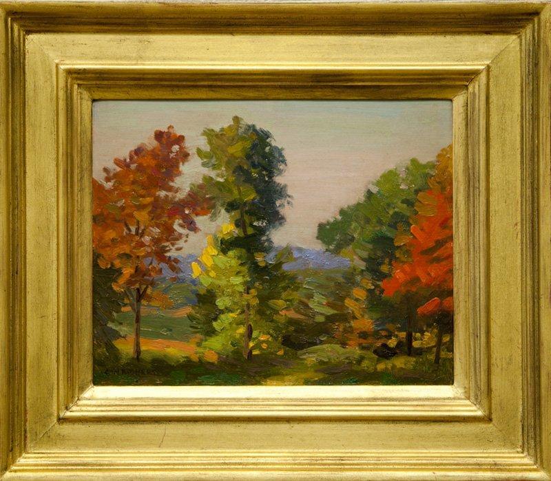 """Charles H. Richert, """"Fall Landscape"""""""