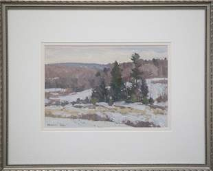 "Bernard Corey, ""Winter Landscape"""