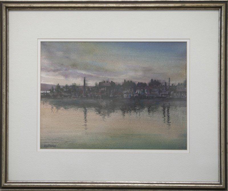 "Alex Gazonas, ""Gloucester Harbor"""