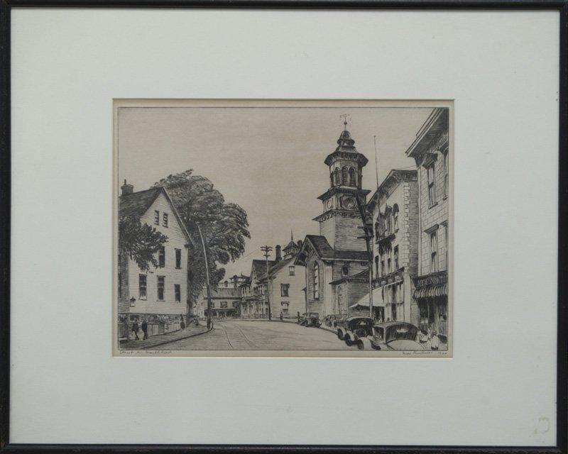 "Max Kuehne, ""Street In Marblehead 1920"""