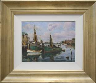 "Arthur E. Ward, ""Gloucester Docks"""