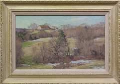"""Bernard Corey, """"First Snow"""""""