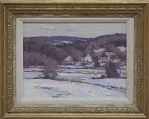 """Bernard Corey, """"Snow Scene"""""""
