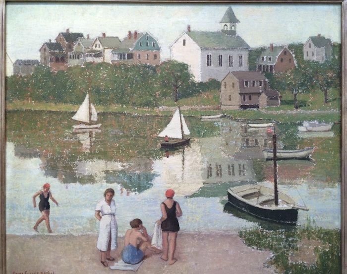 "Emma Fordyce MacRae, ""The Bathers - Cape Ann"""