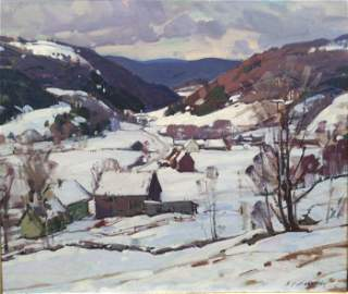 "Aldro T. Hibbard, ""Up The Valley"""