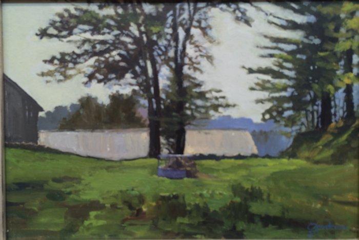 "Paul Goodnow, ""Hay Hoop - Vermont"""