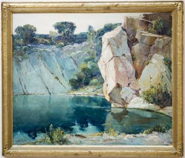 """Anthony Thieme, """"Quarry in Rockport"""""""