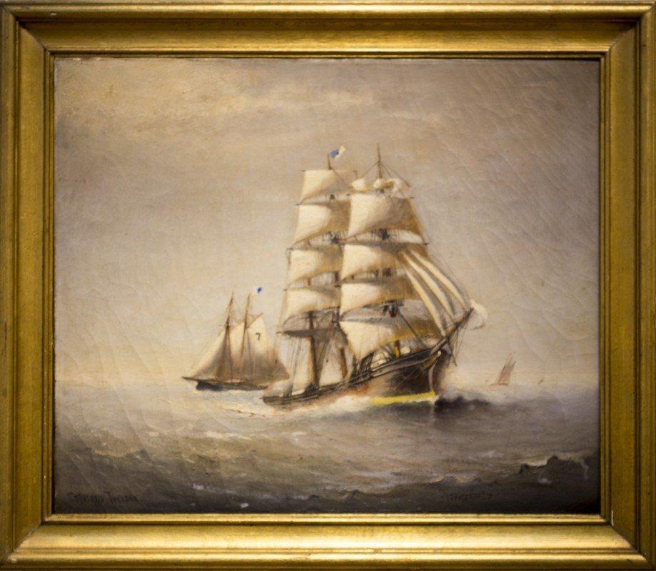 """Marshall  Johnson ,  """" Clipper Ships"""""""