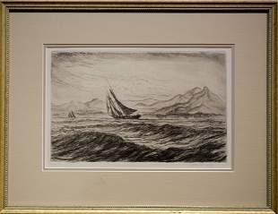 """Reynolds Beal , """" Along Shore - St. Vincent (1932)"""""""