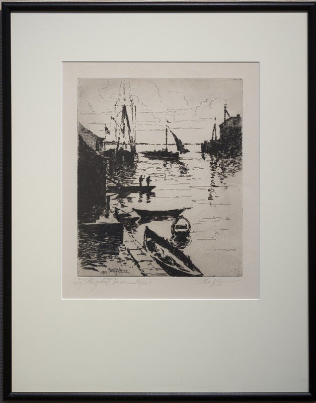 "Philip  Little ,  "" Rockport Harbor """