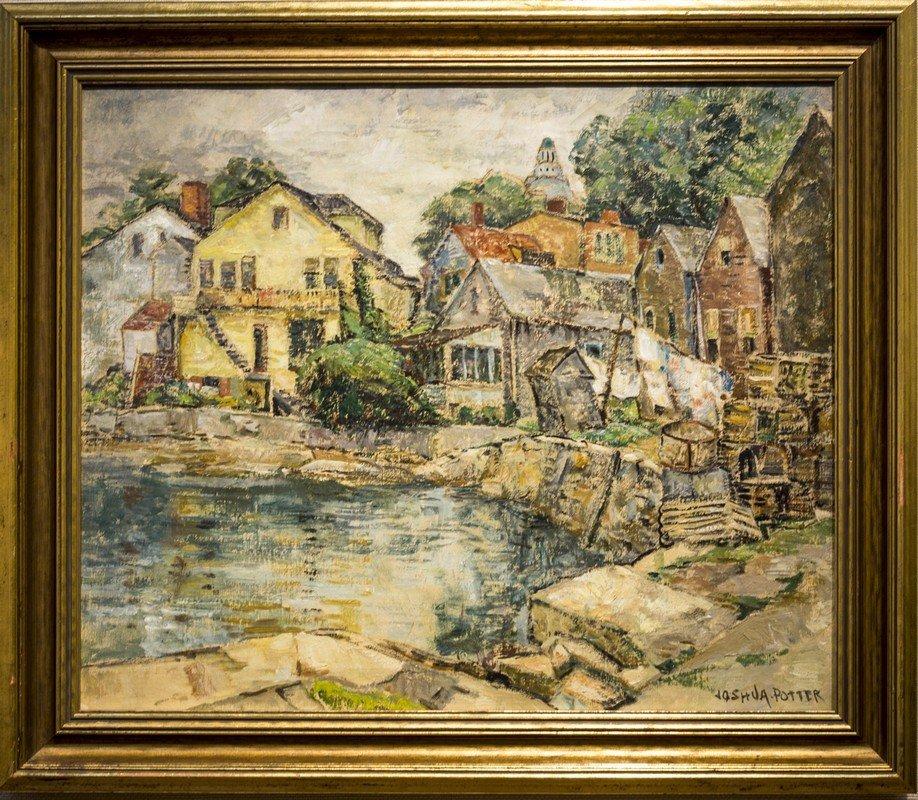 """William J.  Potter ,  """" Rockport Harbor """""""