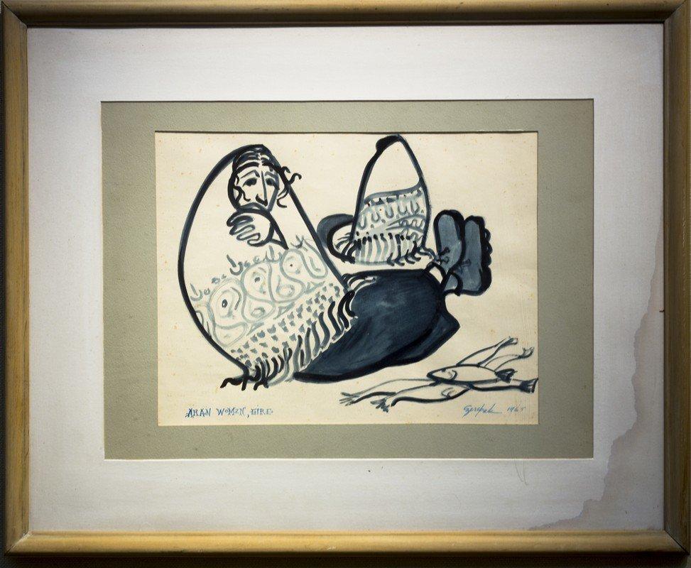 "Al  Czerepak ,  "" Aran Woman (1965)"""