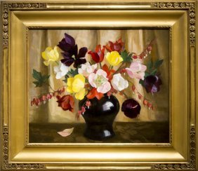 "Marguerite S. Pearson , "" Floral Still Life"""
