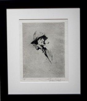 "Gordon Grant , "" Sailor With Pipe"""