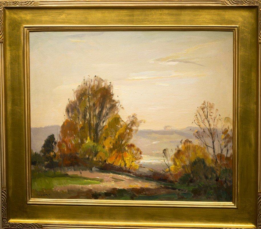 "Antonio  Cirino ,  "" Autumn Landscape"""