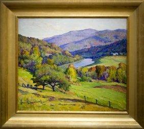 "Harriet Randall Lumis , "" Landscape View"""