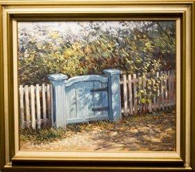 "Michael Stoffa , "" Blue Gate (1983)"""