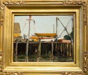 "John Enser , "" Rockport Yacht Club (1935)"""