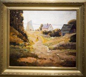"Anthony Thieme , "" Summer Day, Rockport"""