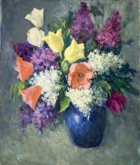 """Mildred Jones , """" Floral Still Life"""""""