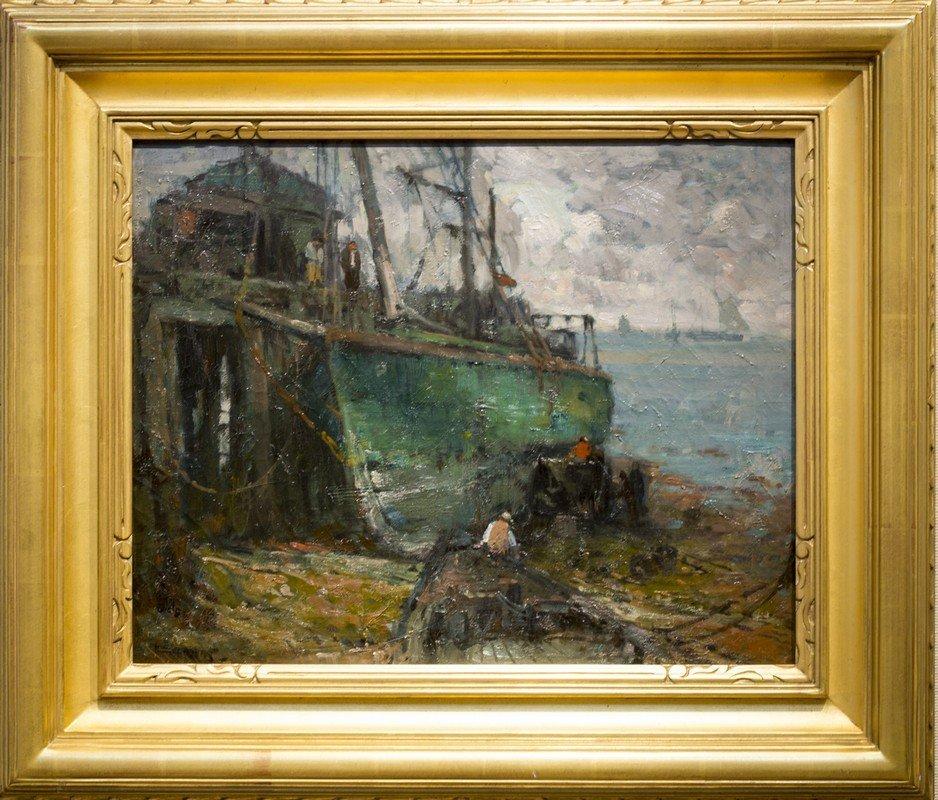 "Harry A.   Vincent ,  "" Provincetown Boat Work"""