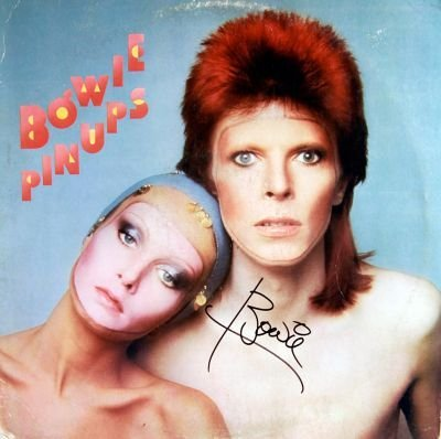 5: David Bowie Signed Pinups LP