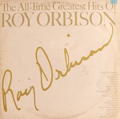 10: Roy Orbison Signed The All Time Hits LP
