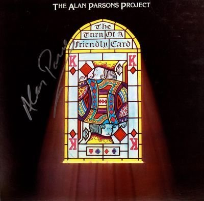 12: The Alan Parsons Project Signed LP