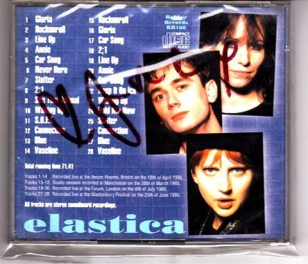 18: Elastica Signed All Friends Are Electric CD