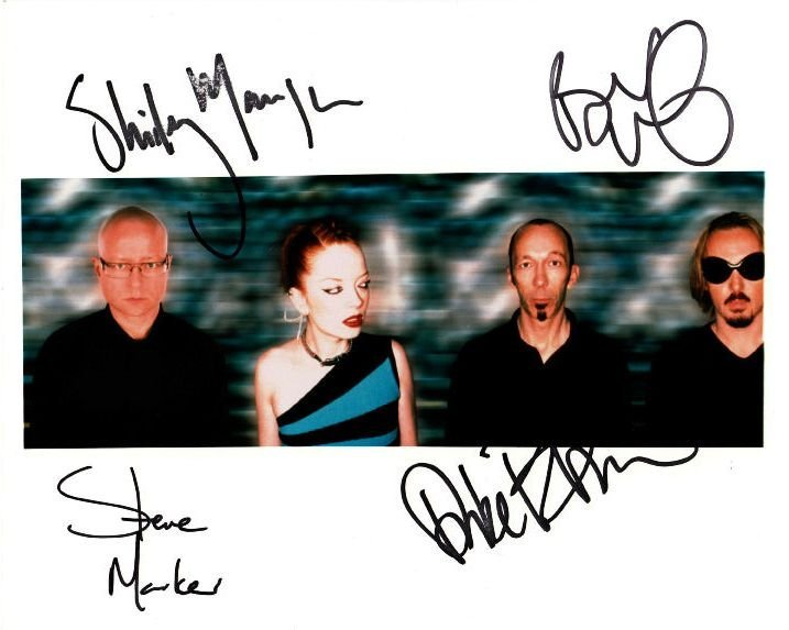 21: Garbage Signed Colour Promo Photo Shirley Manson
