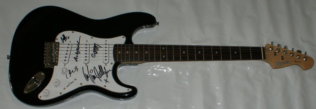 67: Beady Eye Signed Electric Guitar