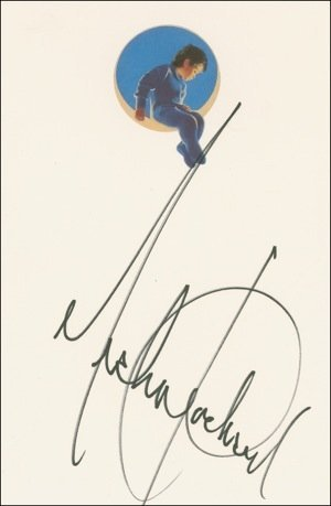 80: Michael Jackson Signed Neverland Stationery