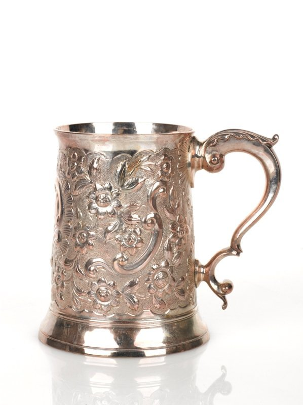 16: Thomas Shepherd George III Silver Pint Mug