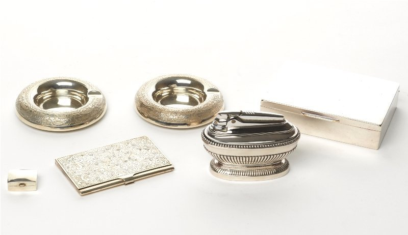 126: Collection of Silver Accessories