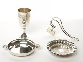 Collection Of Silver Table Accessories