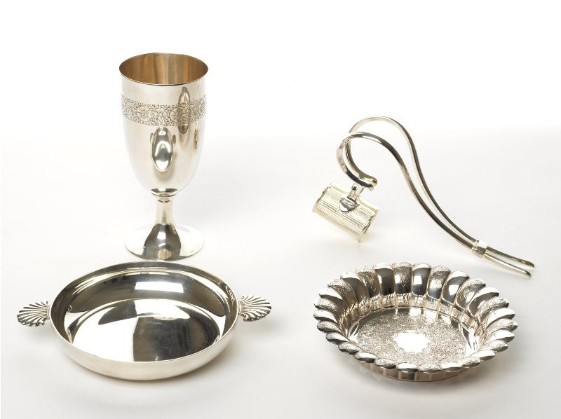 130: Collection of Silver Table Accessories