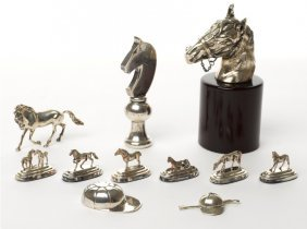 Collection Of Horse Racing Ornaments