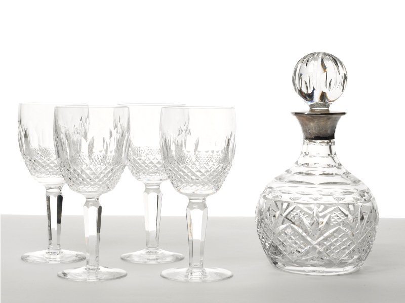 142: Crystal Decanter