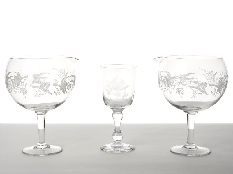 156: Collection of Glassware