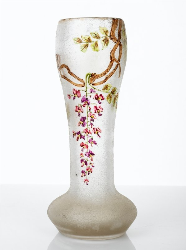 162: August J.F. Legras Vase