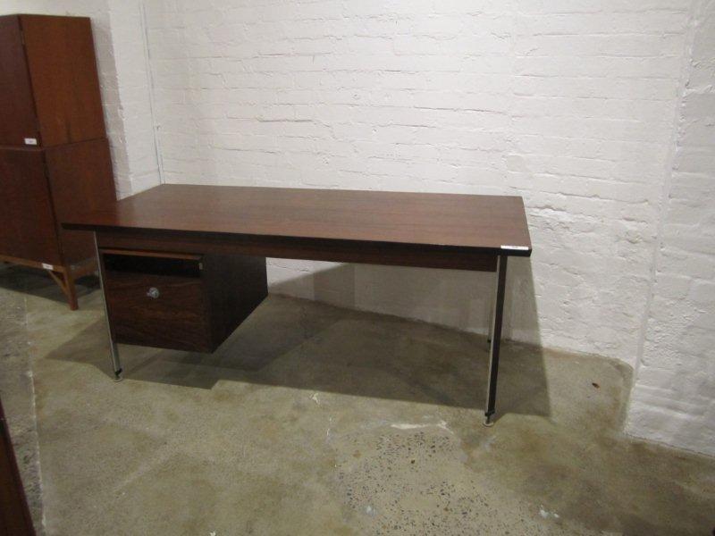 4: Finn Juhl Palisander Brazilian Rosewood Desk