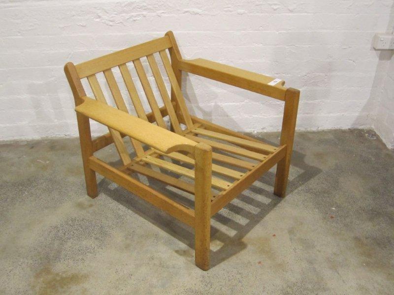 18: Oak Easy Chair