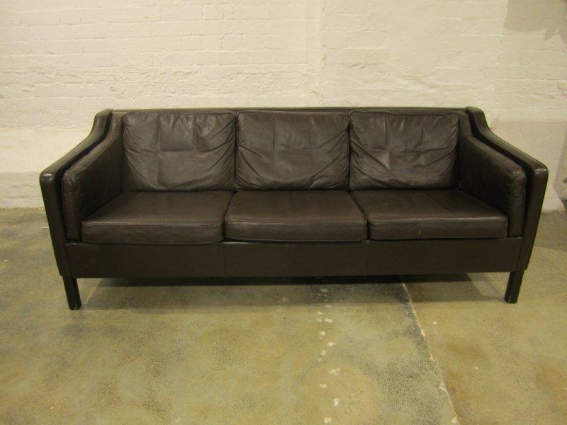 22: Vintage Three Seat Sofa