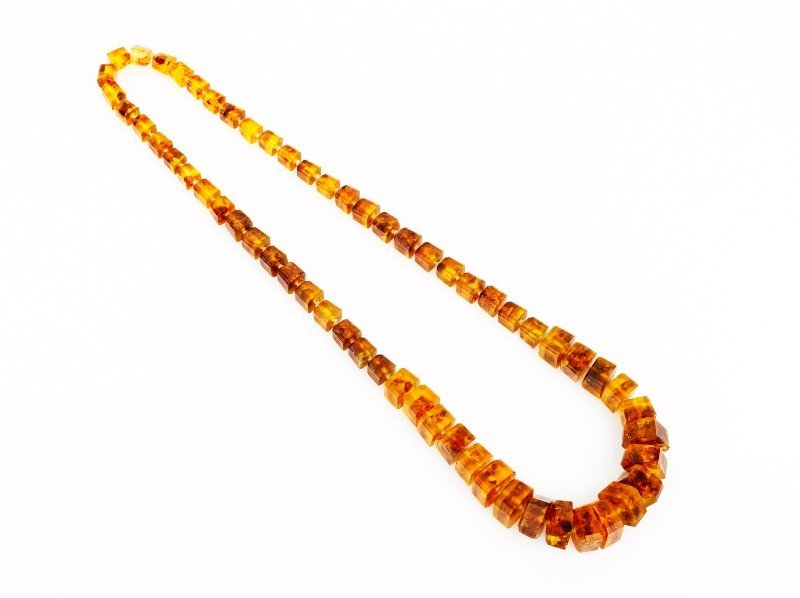 8: Baltic Amber Necklace
