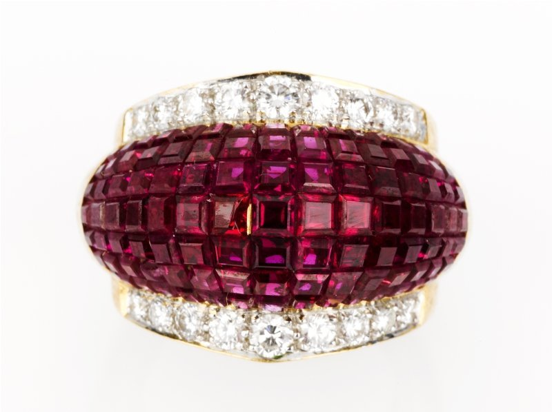 23: Ruby and Diamond Ring
