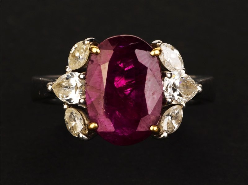 24: Ruby and Diamond Ring