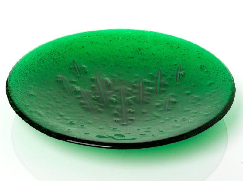 350: Bradley Wongawai Glass Platter/Palykunpiriti, c.19