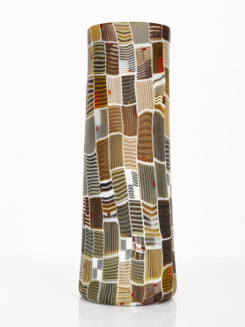 354B: Giles Bettison Murrini Glass Vessel